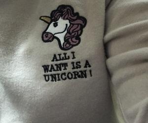 fashion, sweater, and unicorns image