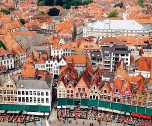 belgium, city, and nature image