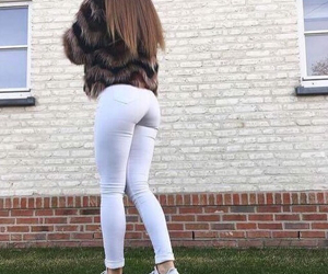 ass, hair, and nike image