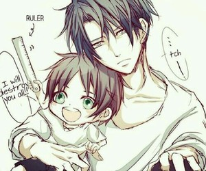 anime, jeager, and levi ackerman image