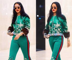 rihanna and fashion image