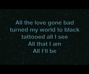 black, eddie vedder, and Lyrics image