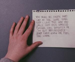 eyes, gorgeous, and handwriting image