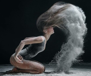 dance, art, and hair image