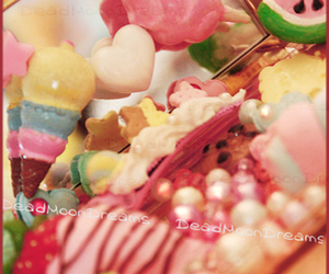 pink and sweets image