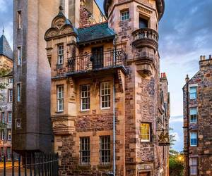city, edinburgh, and scotland image