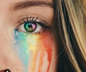 blonde, couleurs, and eyes image