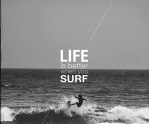 surf, life, and beach image