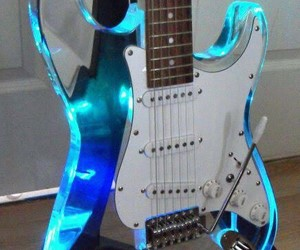 guitar and blue image