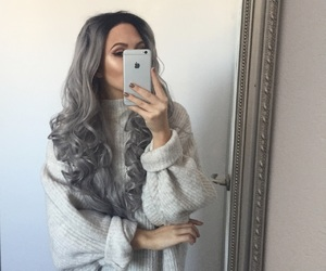 curly, eyebrows, and fashion image