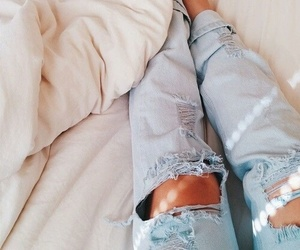 bed, pretty, and tan image