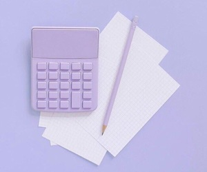 purple, minimalist, and aesthetic image