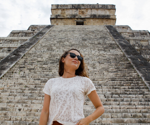 architecture, girl, and mexico image
