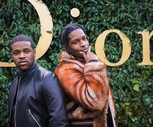 dior, asap rocky, and asap mob image