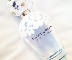 blue, bottle, and daisy image