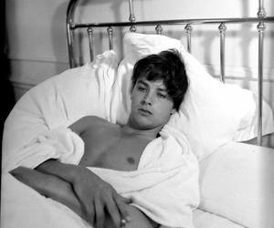 actor, Alain Delon, and hollywood image
