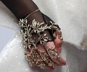 hand, jewelry, and bracelet image
