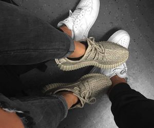 shoes, couple, and nike image