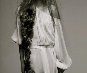 hair, model, and braid image