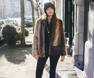 blog, blogger, and faux fur image
