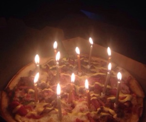 birthday, candles, and grunge image