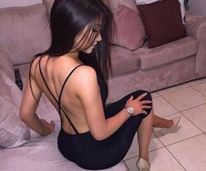 elegance, hair, and kim kardashian image