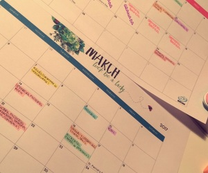 calendar, snaps, and studying image