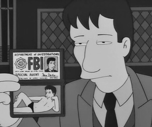 funny, fbi, and the simpsons image