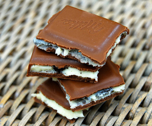 chocolate, food, and milka image