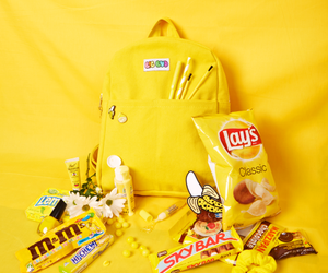 yellow and backpack image