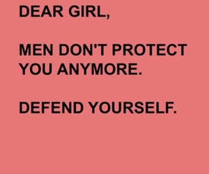 feminism, defend yourself, and you are powerful image