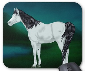horses, computer accessories, and mouse pads image