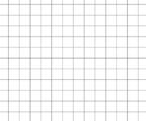 grid, black, and white image