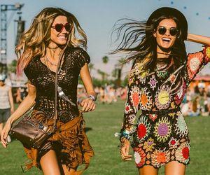 coachella, friends, and summer image