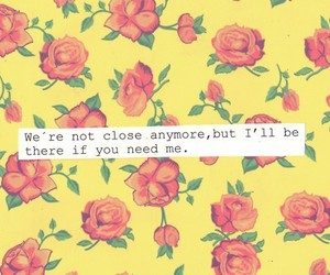 quotes, flowers, and text image