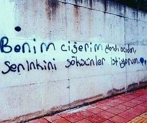 edebiyat, şiir sokakta, and duvar yazıları image