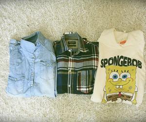 vintage, spongebob, and hipster image