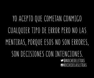 error, frases, and mentira image