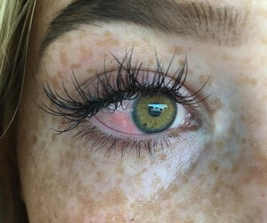 tumblr, eye, and freckles image