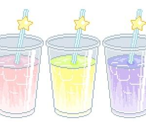drink, kawaii, and transparent image
