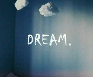 Dream, clouds, and wallpaper image