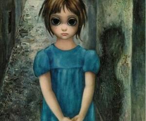 big eyes, Margaret Keane, and art image
