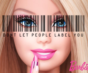 barbie, girl, and girly image