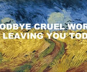 cruel, death, and Lyrics image