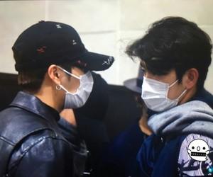 jinyoung, got7, and jackson wang image