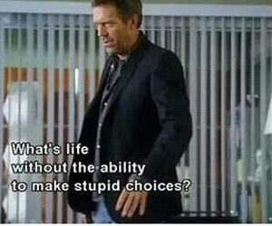 quote and dr house image