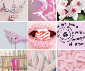 aesthetic, candy, and pink image