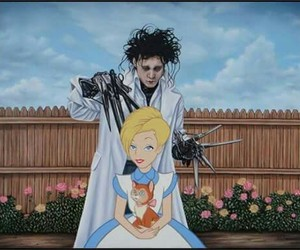 disney, alice, and edward image