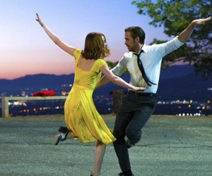 emma stone, la la land, and ryan gosling image