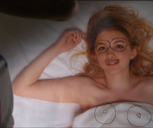 cassie, skins, and bed image